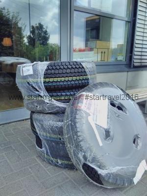 Stabilde und große Reifen müssen sein!