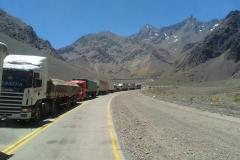 Grenzübergang Paso de la Cumbre