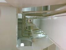 Es sind viele Treppen zu besteigen