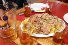 Essen und Trinken in Chille